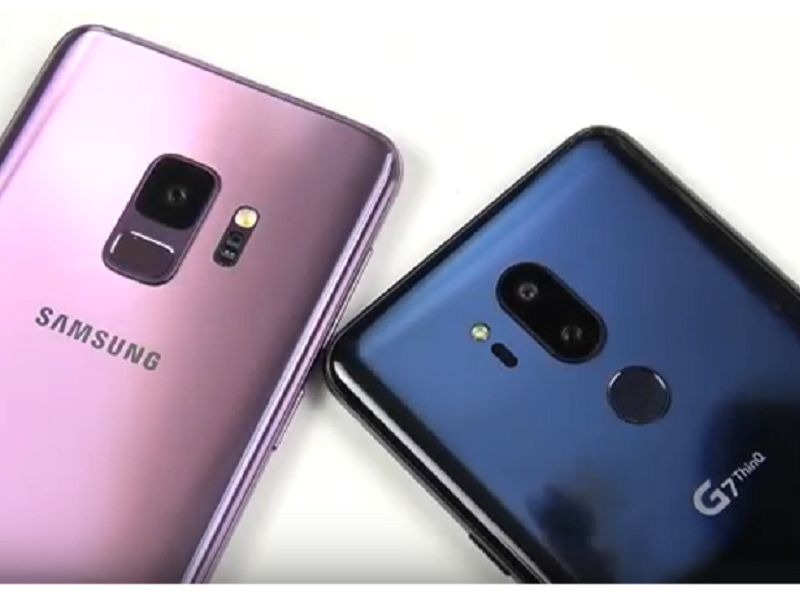 Ring frei für: LG G7 ThinQ vs. Samsung Galaxy S9!