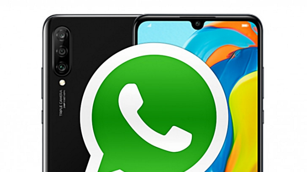 Ein Handy mit zwei WhatsApp-Accounts