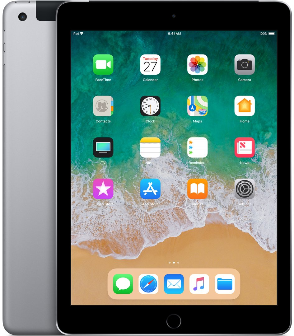 Apple iPad Wi-Fi + Cellular 32 GB Grau