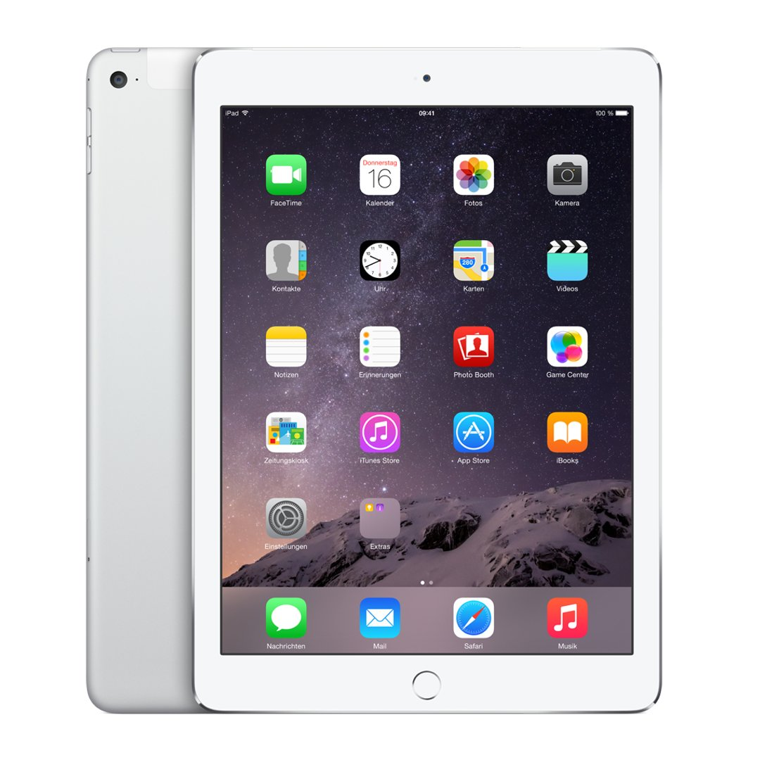 Apple iPad Air 2 WIFI + Cellular 16 GB Silber